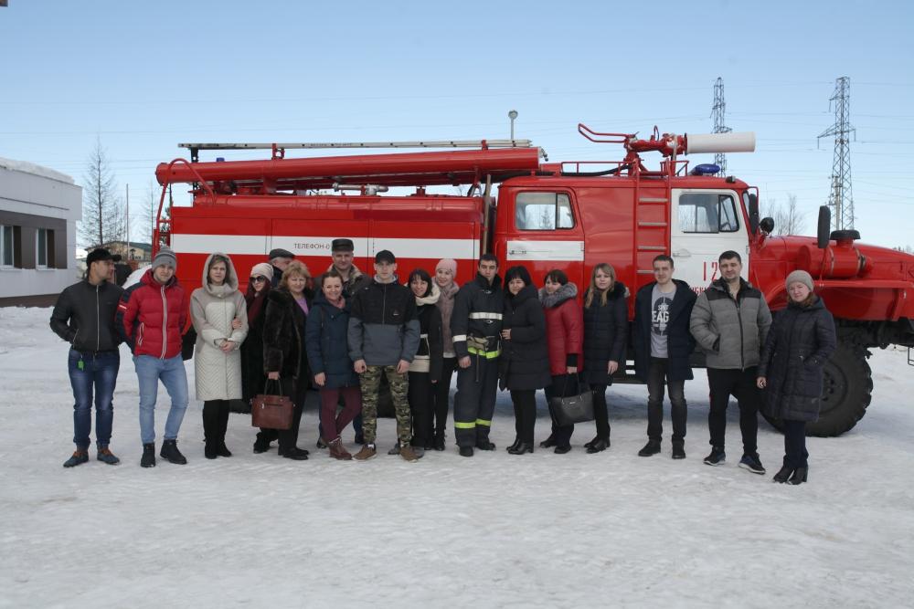 Губкинские культурологи познали азы пожарного дела