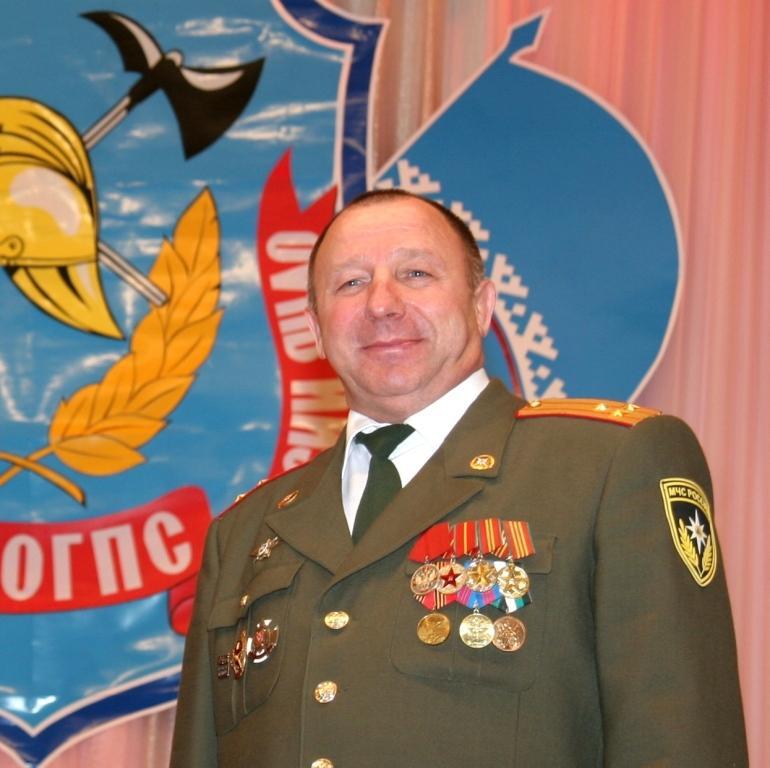 Ветеран пожарной охраны города Муравленко Б.В. Пшонченко
