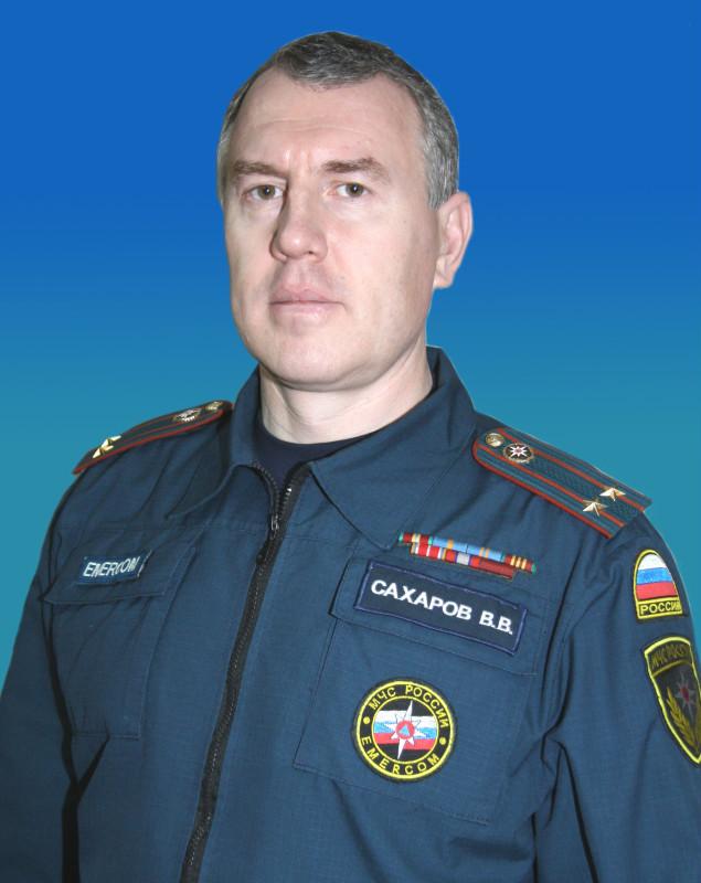 Ветеран пожарной охраны Надыма В.В. Сахаров