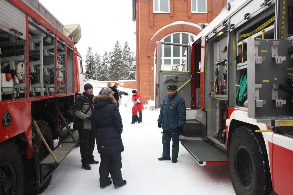 Ноябряне побывали в гостях у пожарных