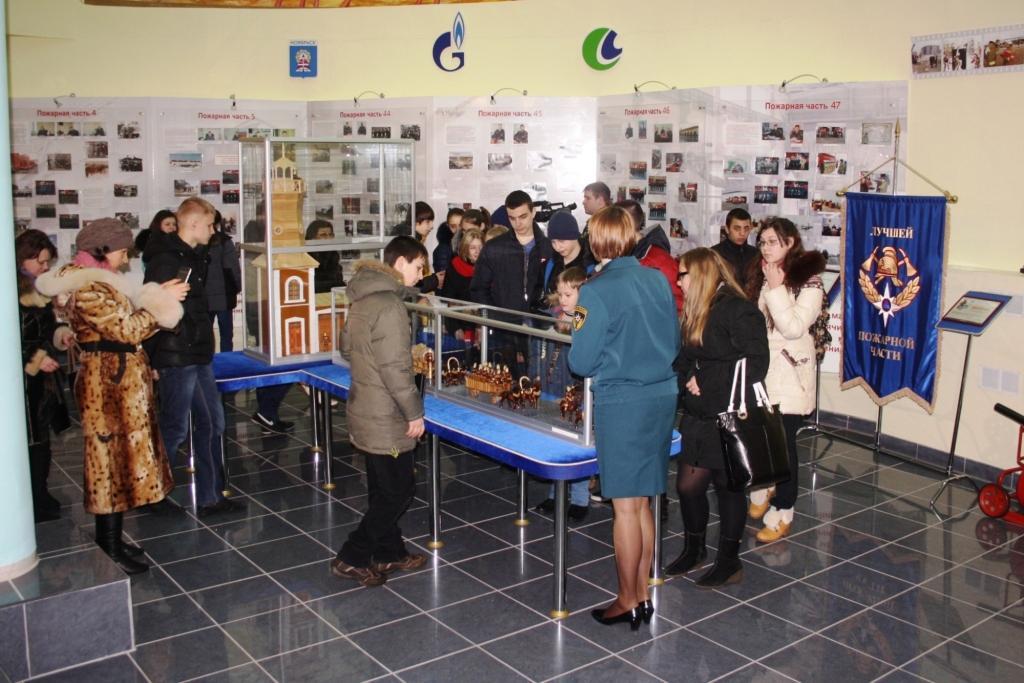 Экскурсия в преддверии Всемирного дня гражданской обороны прошла в Ноябрьске