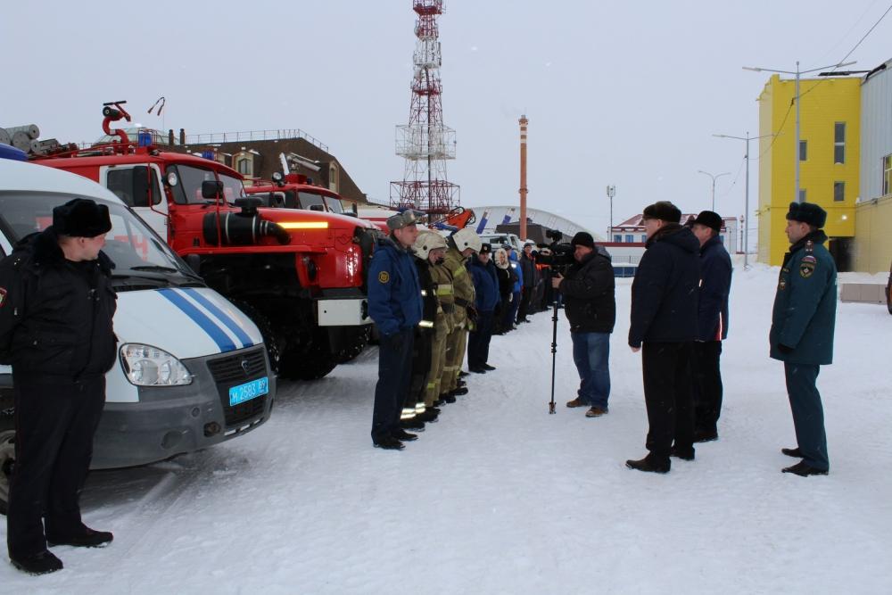 В Пуровском районе подготовка к прохождению паводка прошла успешно
