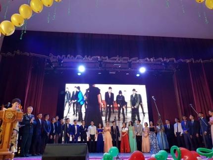 30 июня 2017 года прошли торжественные мероприятия по выпуску учащихся профильных классов МЧС России
