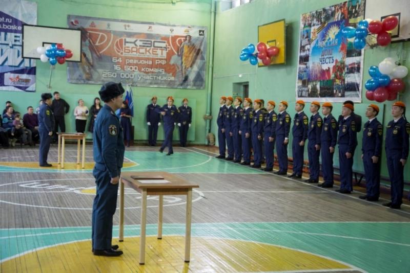 8 декабря 2017 года кадеты Гимназии №5 города Кызыла приняли торжественную клятву