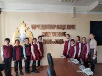 Школьники МБОУ СОШ с.Кочетово побывали в гостях у сотрудников МЧС