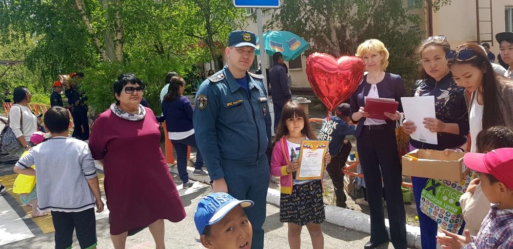 """""""День защиты детей"""" в Республике Тыва"""
