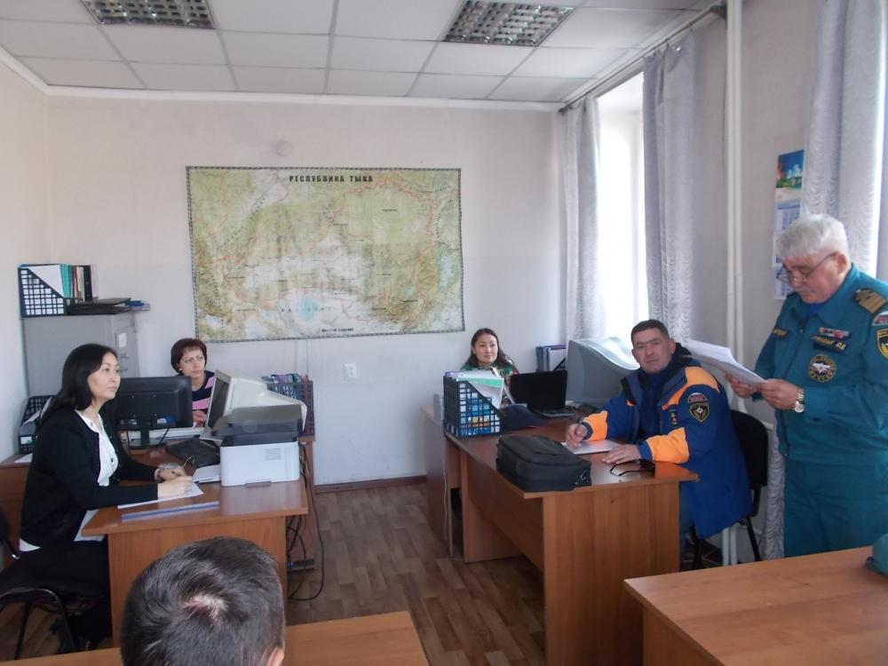 Проведение занятий в подразделениях по знанию НПА в области ГО