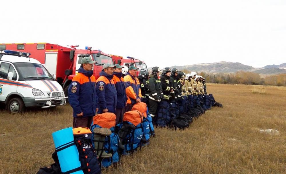 В рамках Всероссийской тренировки по гражданской обороне в Туве проведено учение по ликвидации последствий чрезвычайной ситуации природного характера – подтопления (ФОТО).