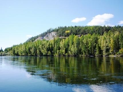 На малых реках Тувы наблюдается повышение уровня воды, соблюдайте меры безопасности.