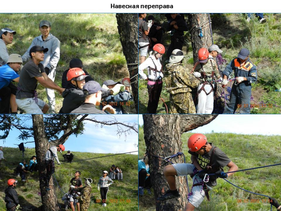 Проведение лагеря «Юный спасатель» в м. Дурген-Оруу Тандинского района