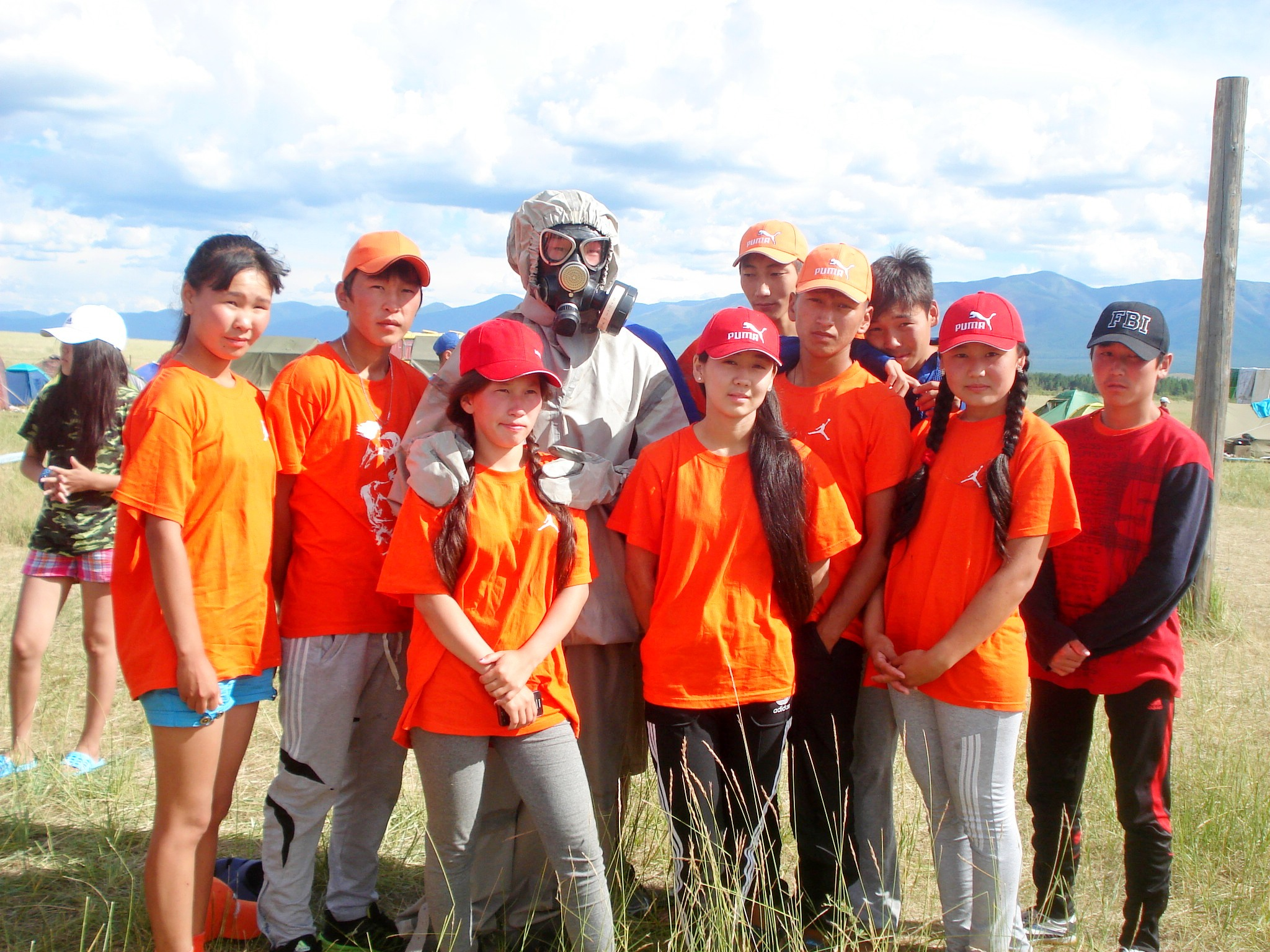 На озере Чагытай проведена полевая практика учащихся  кадетских  классов «Юный спасатель»