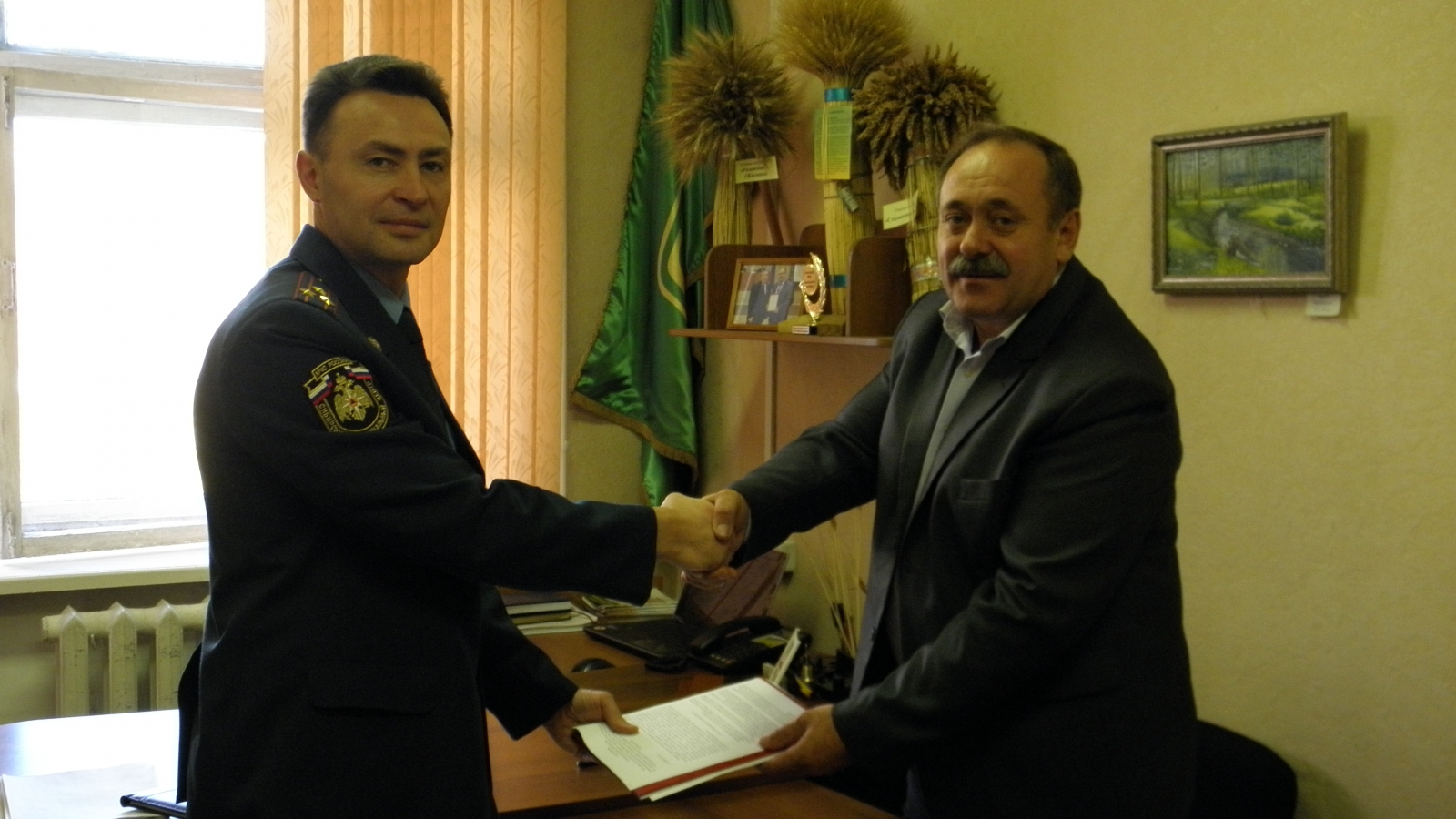 Подписано Соглашение о взаимодействии с Союзом крестьянских (фермерских) формирований Алтайского края