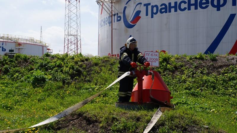 Сотрудники МЧС России приняли участие в  командно-штабном учении, где отработали взаимодействие в чрезвычайной ситуации, обусловленной лесными пожарами