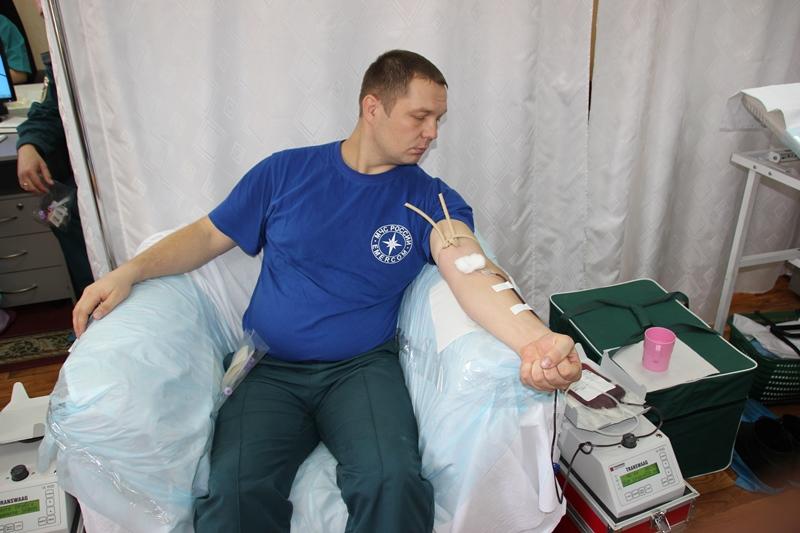 Областная акция по безвозмездному донорству «Кровь во имя жизни»
