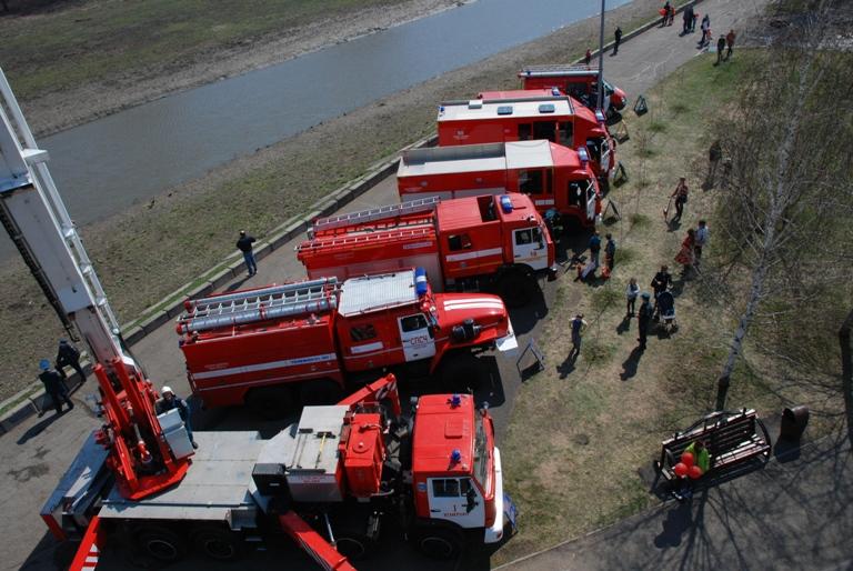 День пожарной охраны 2017
