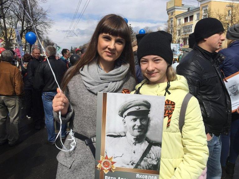 Торжественный митинг, посвященный 72-ой годовщине Победы в Великой Отечественной Войне