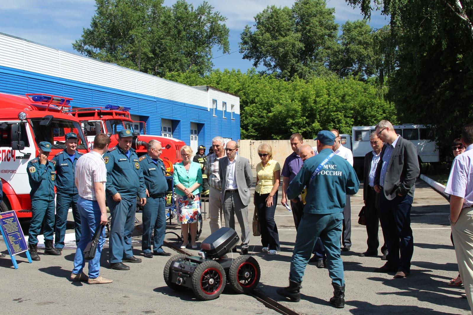 Учебно - методические сборы  с начальниками департаментов Администрации Кемеровской области