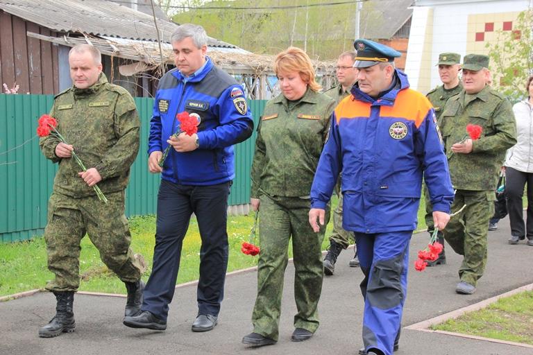 Тактико-специальное учение по отработке действий при возникновении природных пожаров в Елыкаево