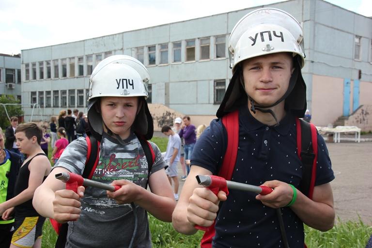 День защиты детей вместе с МЧС России!