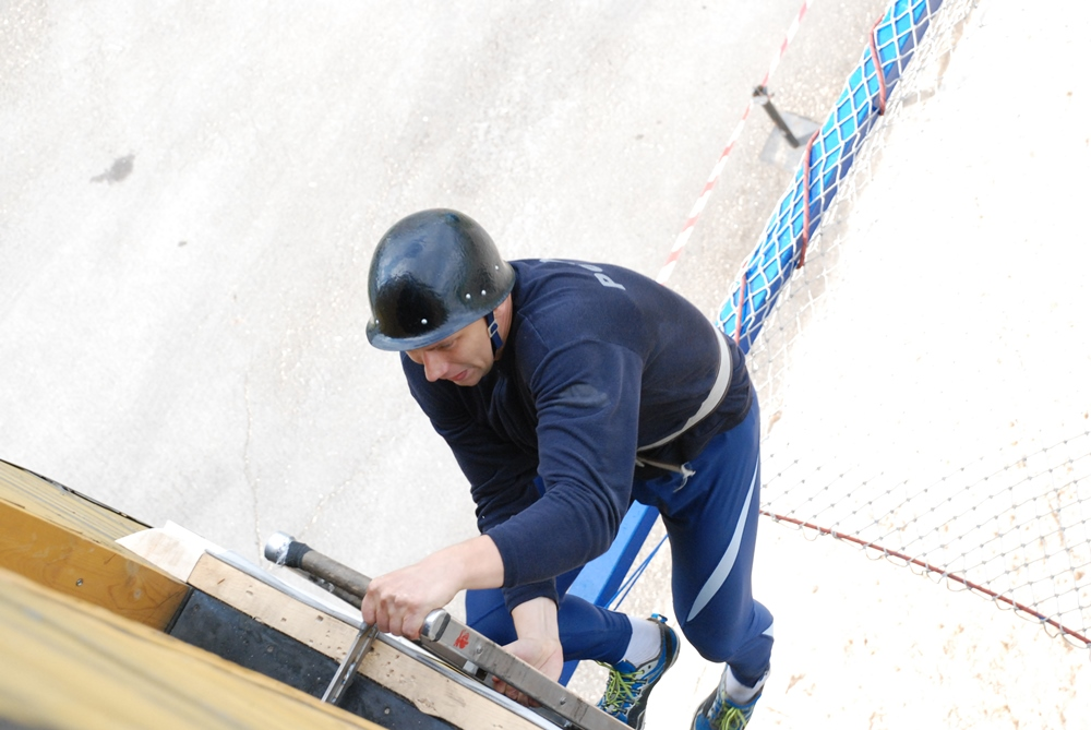 Городские соревнования по пожарно-прикладному спорту в Кемерове