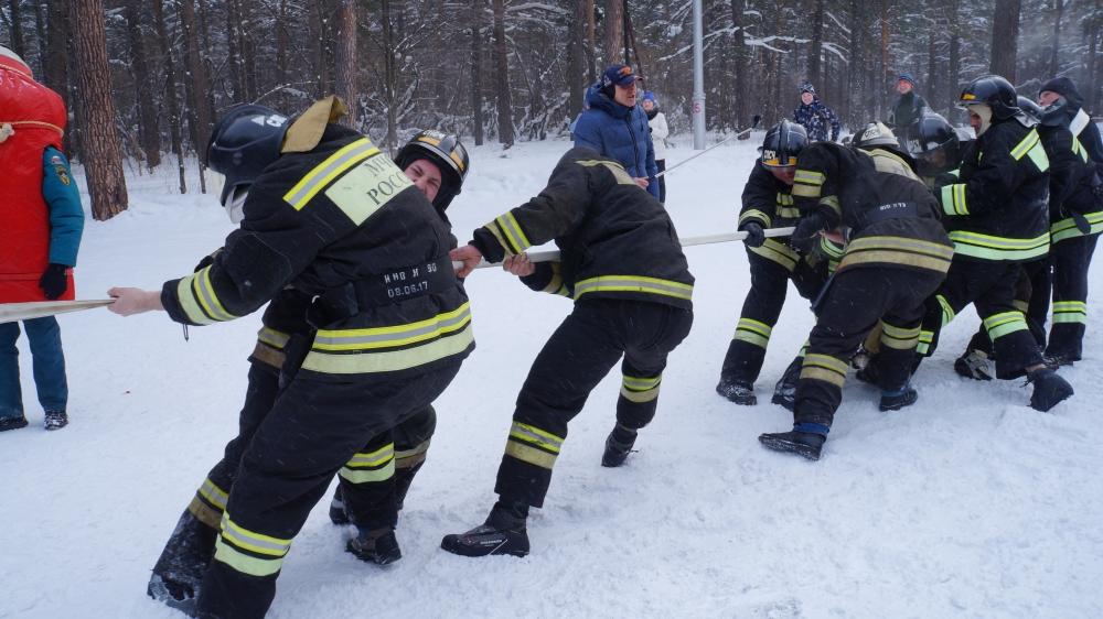 Всероссийский пожарно-спасательный флэшмоб
