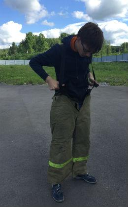 """""""Как я был пожарным"""": корреспондент областной газеты """"Кузбасс"""" попробовал пройти подготовку пожарных"""