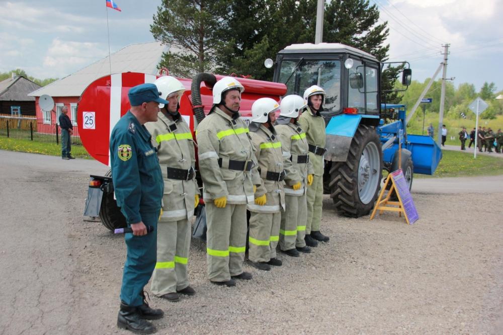 Учения ТСУ в п. Каменный Ключ в Прокопьевском районе 2016