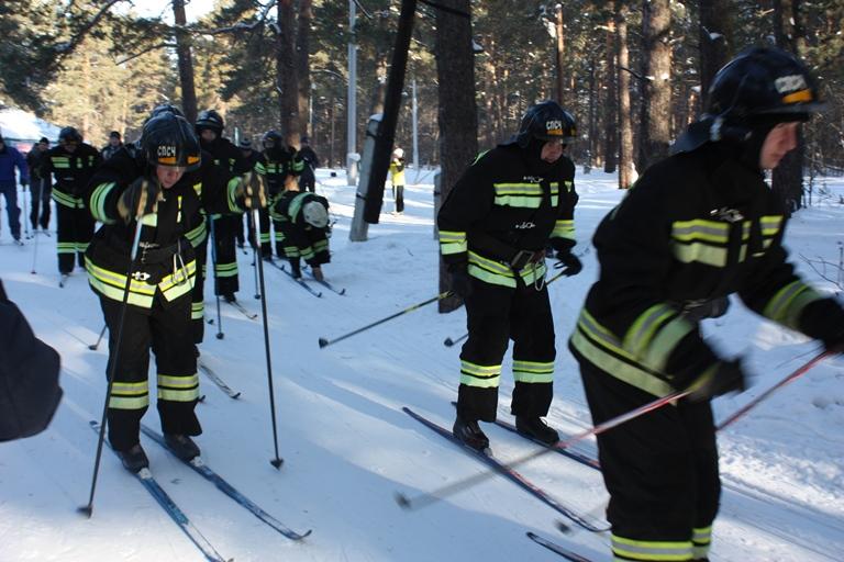 Пожарный флэш-моб