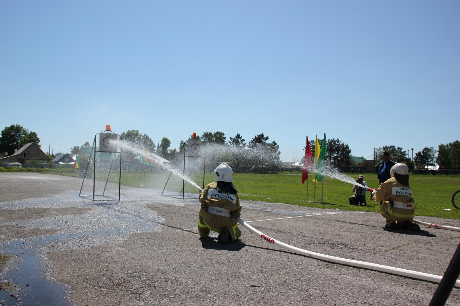 Смотр-конкурс на звание «Лучшее подразделение добровольной пожарной команды»