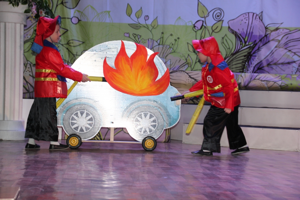 Областной семинар по новым формам противопожарного обучения детей