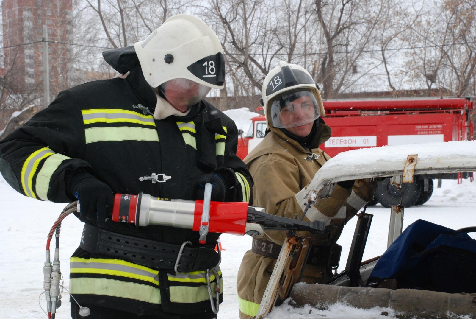 Соревнования по проведению аварийно-спасательных работ при ликвидации последствий дорожно-транспортных происшествий