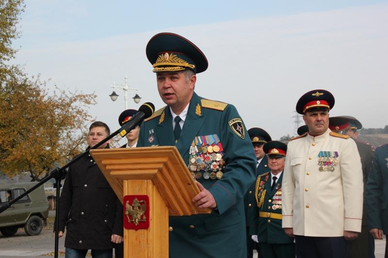 Воспитанники Губернаторской кадетской школы-интерната МЧС приняли присягу