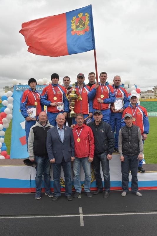 Всероссийский соревнования по пожарно-спасательному спорту памяти Сергея Бушуева - 2018