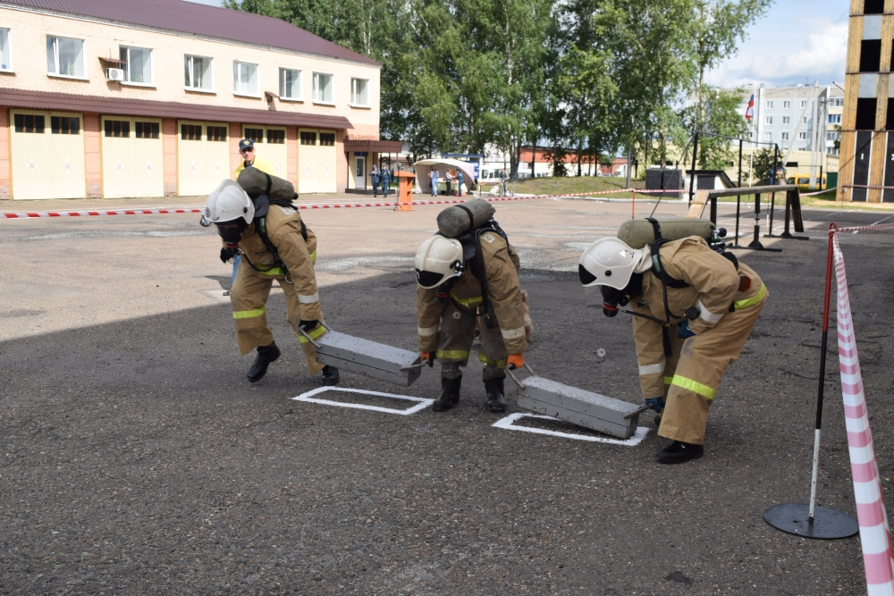 Областные соревнования ГДЗС, г.Анжеро-Судженск