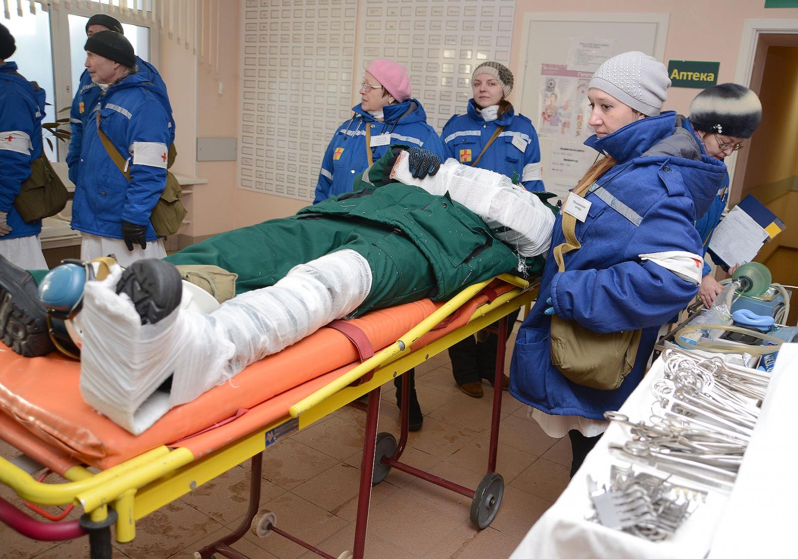 Масштабные учения на «СДС Азот» в Кемерово