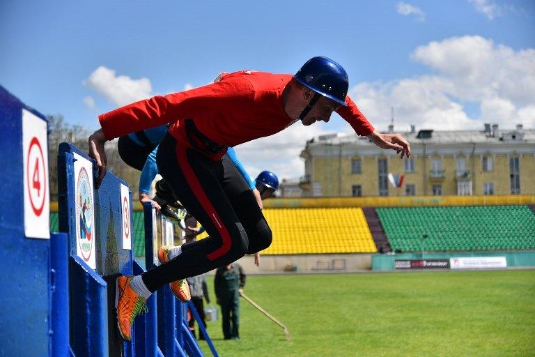Всероссийские соревнования по пожарно-спасательному спорту памяти мастера спорта СССР Сергея Бушуева