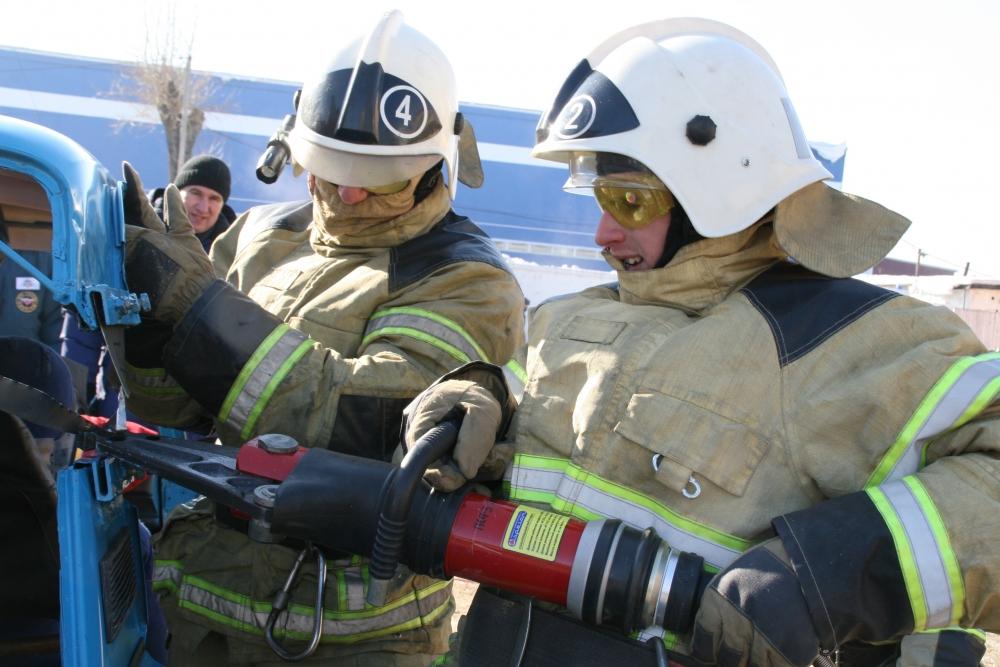 Областные соревнования по проведению аварийно-спасательных работ при ликвидации последствий ДТП