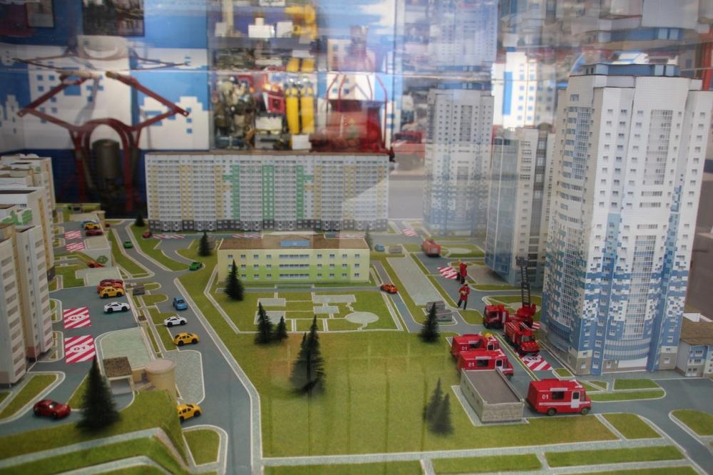 Открытие пожарно-спасательной выставки Главного управления МЧС России по Кемеровской области