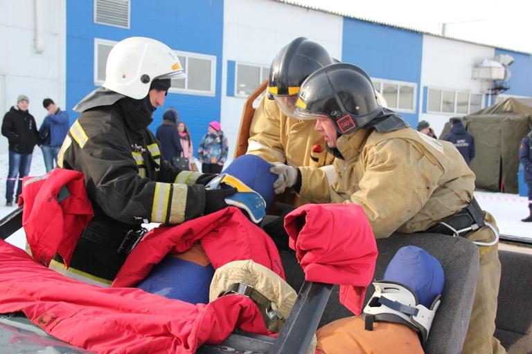 Областные соревнования по проведению аварийно-спасательных работ во время ликвидации ДТП