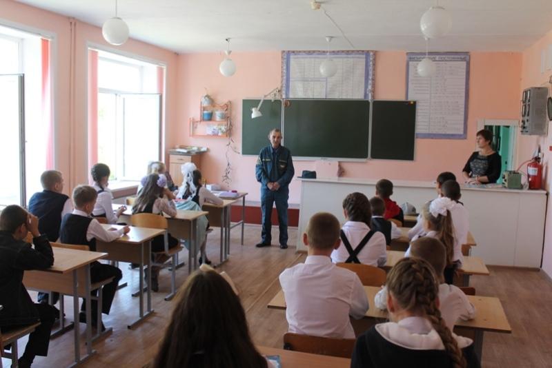 Сотрудники МЧС России по Кемеровской области провели уроки Безопасности в образовательных учреждениях