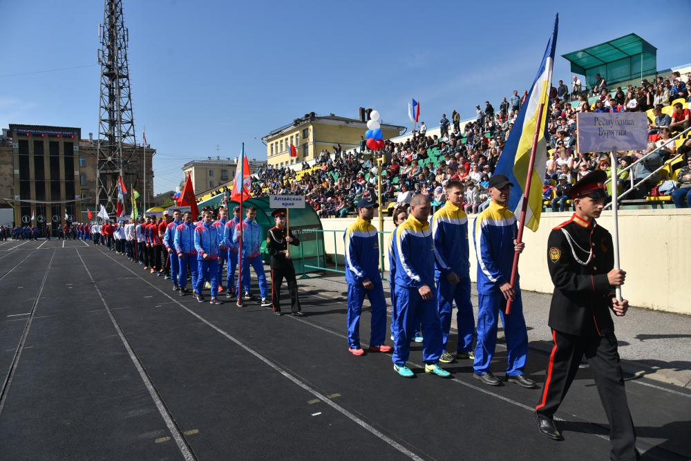 Всероссийские соревнования по пожарно-спасательному спорту