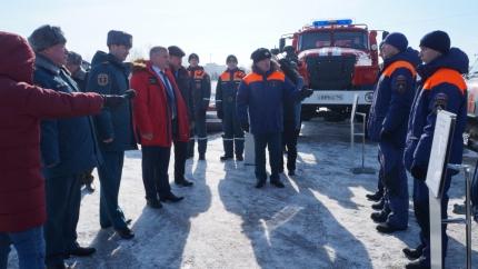 Областной смотр сил и средств подтвердил готовность Кузбасса к паводку