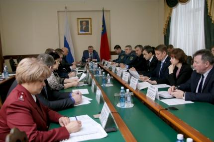 В обладминистрации прошло расширенное заседание комиссии по предупреждению и ликвидации ЧС и подготовке к паводку