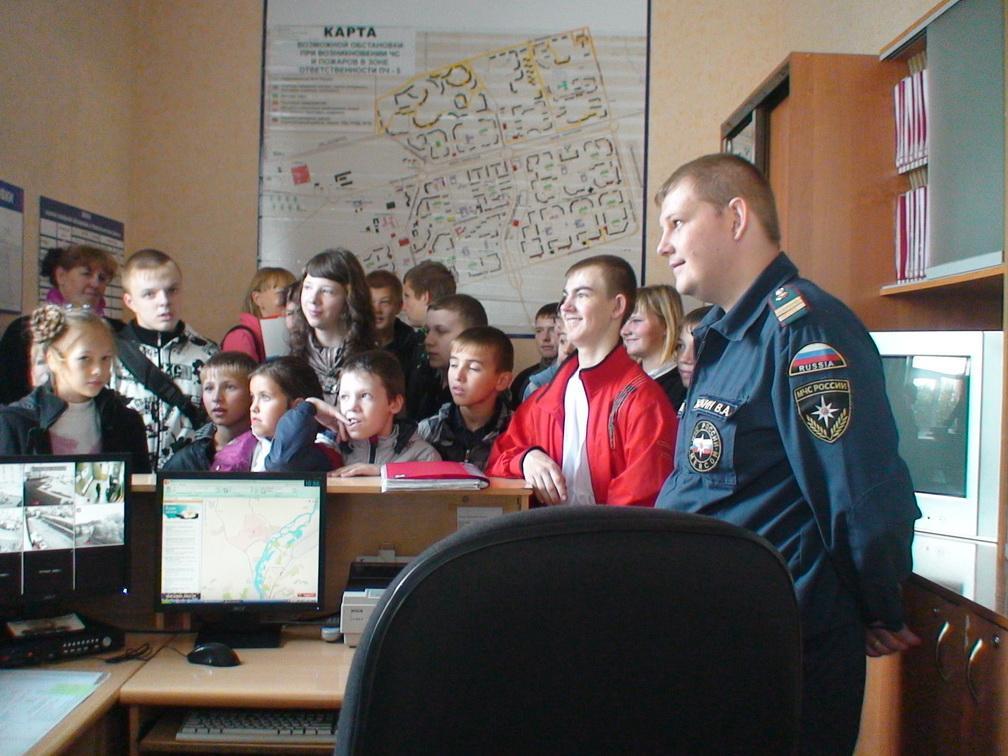 ДЕНЬ ОТКРЫТЫХ ДВЕРЕЙ ПЧ-5 Г.НОВОКУЗНЕЦК