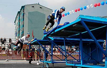 V открытый чемпионат МЧС России по спасательному спорту 11-13 августа 2010 года г. Кемерово