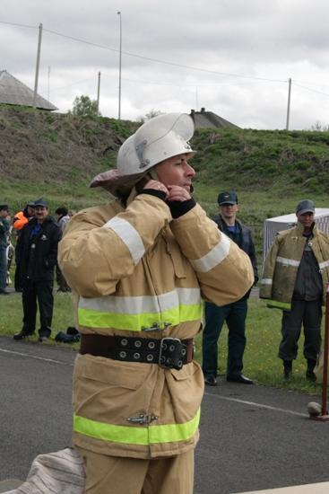 Смотр-конкурс Добровольных пожарных команд Кузбасса (пгт.Крапивинский)