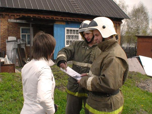 Работа мобильных патрульных групп в населенных пунктах и садовых обществах, подверженных угрозе лесных пожаров