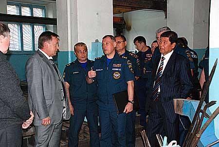 Рабочий визит А.Чуприяна в Кемеровскую область