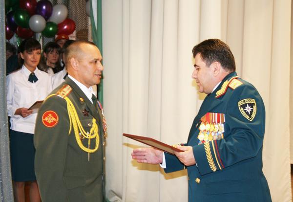 Кадетскому корпусу МЧС -10 лет. Торжественное собрание в ДК Шахтеров.