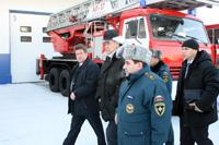 Открытие пожарного депо в г.Прокопьевск